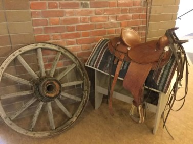 Saddle by Linda