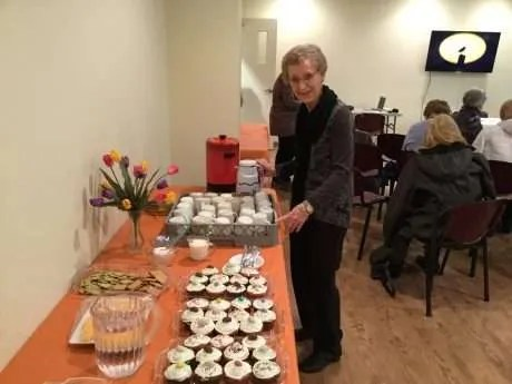 Doreen's baked cupcakes!