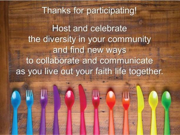Thanks participants