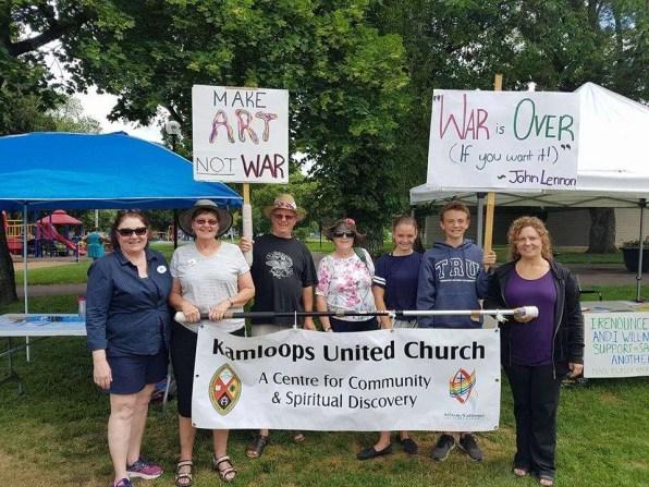KUC and Peace Pledge Ambassador Team at 2018 Peace, Justice and Environmental Walk