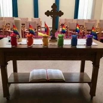 Pride week in the sanctuary