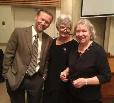 Brian, Marg and Gail.