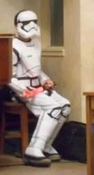 A storm trooper.