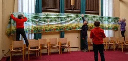 Dressing up the sanctuary