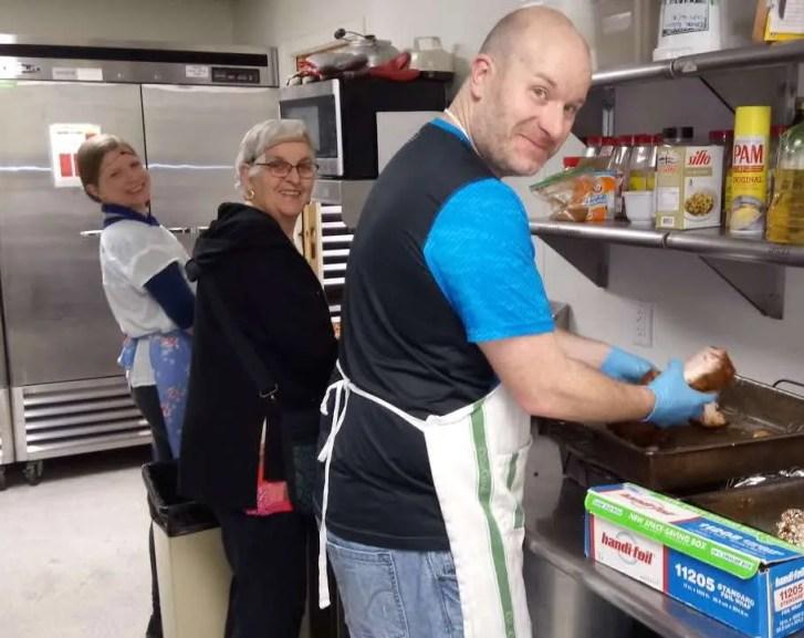 Food prep. crew