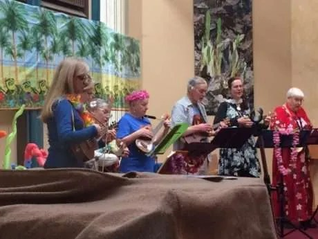The Ukelele Group!