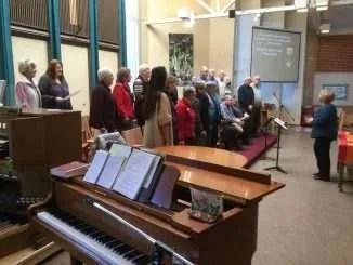 The Choir Singing