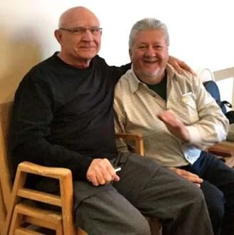 Derm and Rick, PIT Stop coordinator