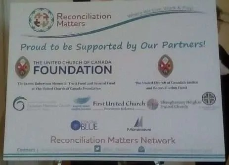 Acknowledging the sponsors