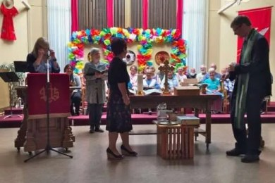Marking the completion of the Covenanted Ministry
