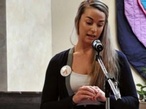 Lisa, a Community Health Educator and Health Navigator with AIDS Kamloops