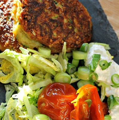 Squash – Courgetter frikadeller – zucchini fritters low carb