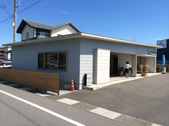 某店舗新築工事 屋根・壁(岐阜県大垣市)