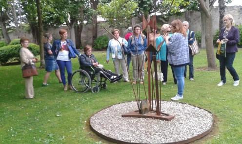 El jardín de esculturas del Evaristo Valle