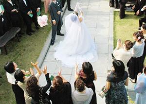 結婚式服装
