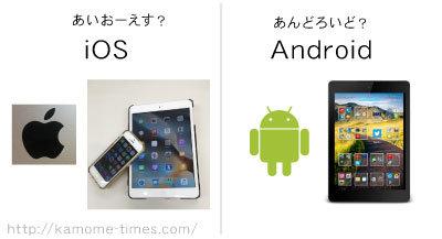 androidかiOS