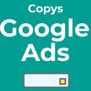Plantilla copys google ads