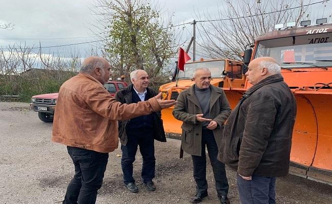 Εκχιονιστικά στον Δήμο Δέλτα