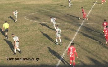 Καμπανιακός-Ομόνοια Σταυρούπολης 4-2