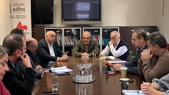 Βουλευτές στον Δήμο Δέλτα δέλτα για τα διόδια