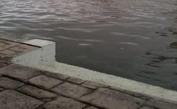 Πλημμύρισε η Χαλάστρα