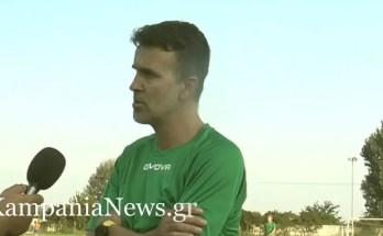 Ο Ηλίας Σαπάνης στην κάμερα του kampanianews