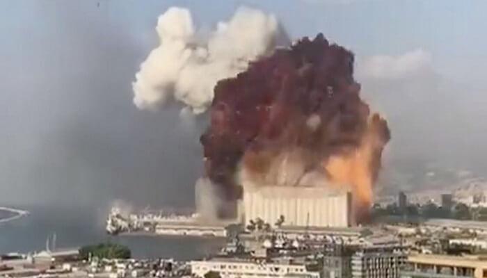 Τρομακτική έκρηξη στην ΒΗΡΥΤΌ