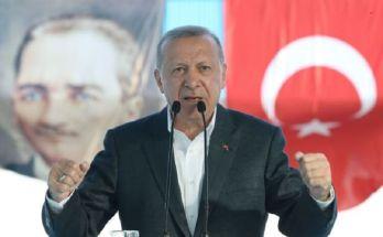 Ερντογαν μιλά για ειρήνη