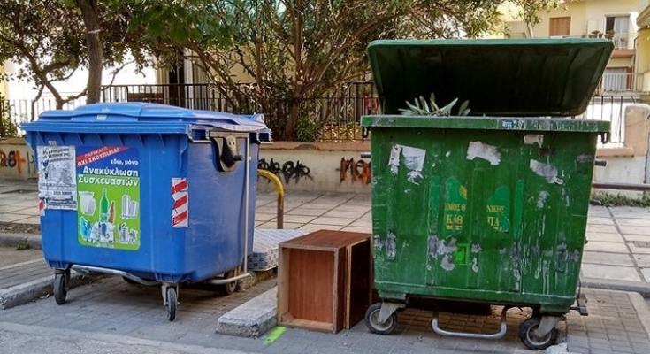 Αντικατάσταση κάδων στον Δήμο Δέλτα