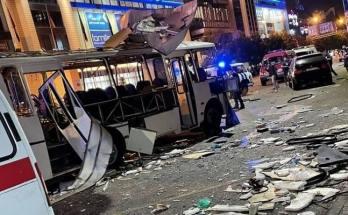 Έκρηξη σε Αστικό λεωφορείο