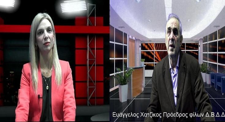 Ο Ευάγγελος Χατζίκος στην xalastra web tv