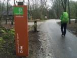 Natuurkampeerterrein entree