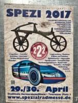 Spezi 2017 aanplakbiljet