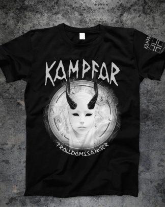 Kampfar - Trolldomssanger (black T-Shirt) | Official Kampfar Merchandise Webshop Webstore Onlineshop