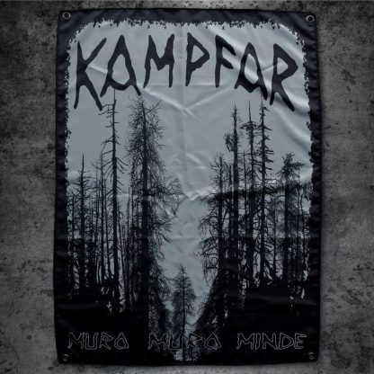 Kampfar - Muro Muro Minde (Stoff-Flagge) | Official Kampfar Merchandise Webshop Webstore Onlineshop
