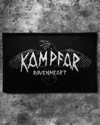 Kampfar - Ravenheart (Patch) | Official Kampfar Merchandise Webshop Webstore Onlineshop