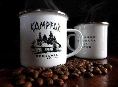 Kampfar - Hemsedal (coffee cup) | Official Kampfar Merchandise Webshop Webstore Onlineshop