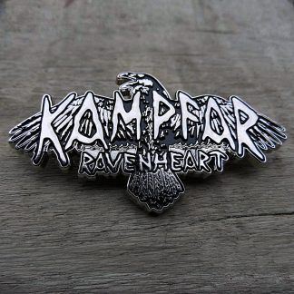 Kampfar - Ravenheart (Metal Pin) | Official Kampfar Merchandise Webshop Webstore Onlineshop