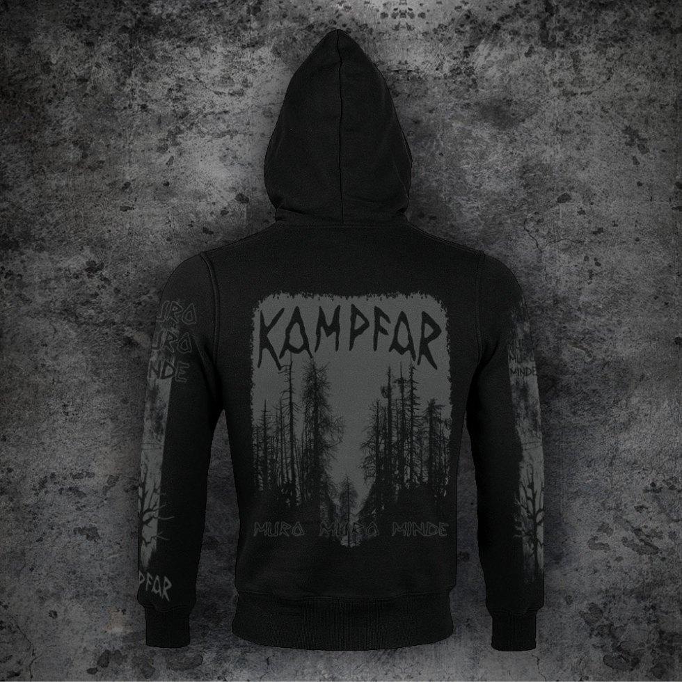 Kampfar - muro muro minde (Sherpa Zipper) | Official Kampfar Merchandise Webshop Webstore Onlineshop