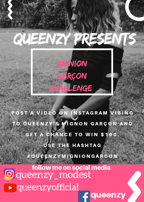 WIN 50K VIBING TO QUEENZY'S MIGNION GARCON