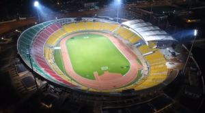 Embarrassing: Lights Go Out At The Bepanda-Douala Stadium During CHAN Match