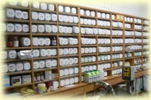 薬煎院薬局の調剤室の写真