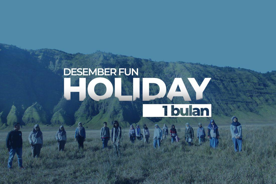 Desember Fun Holiday 1 bulan kampung inggris