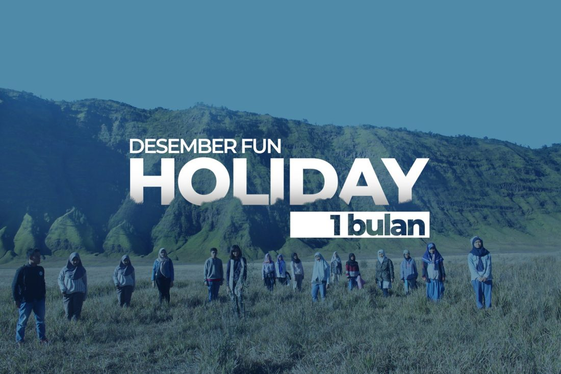 Desember Fun Holiday 1 Bulan