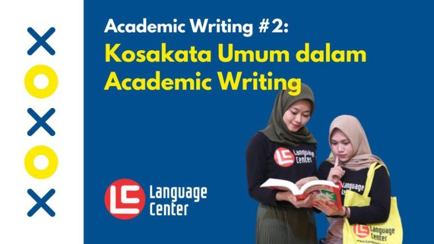 Daftar Kosakata Academic Writing