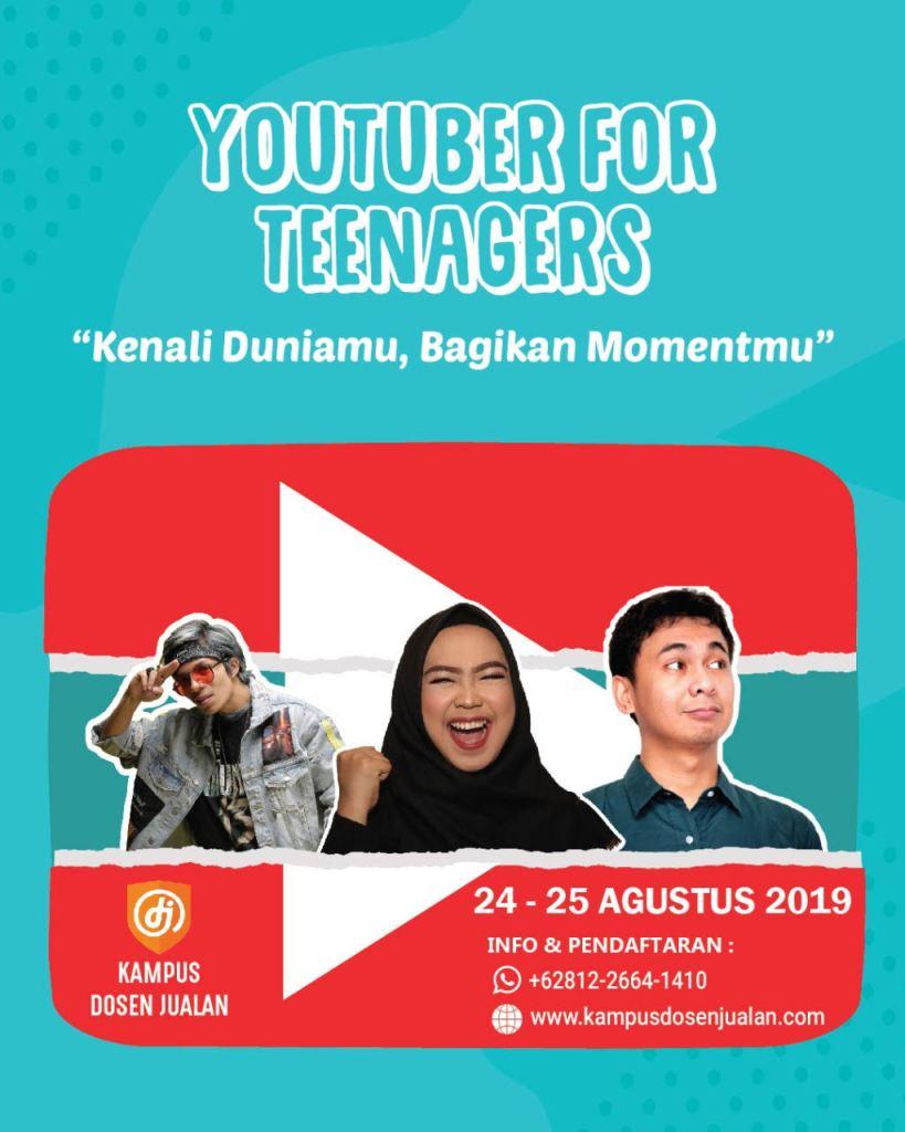 Bakat Youtuber Remaja