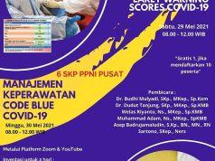 PPNI Gelar Webinar Keperawatan Nasional EWS dan Code Blue Covid-19