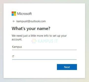 Daftar email Outlook dan Hotmail