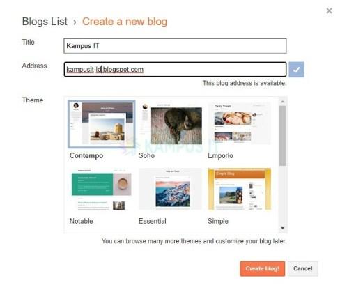 Membuat blog yang menghasilkan uang