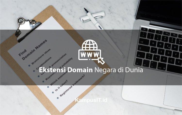 Ekstensi Domain Negara di Seluruh Dunia